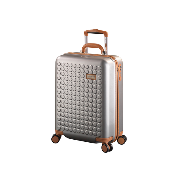 "Hardside 4-wheels suitcase Silver (20"") 15124PC"
