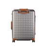 "Hardside 4-wheels suitcase Silver (24"") 15125PC"