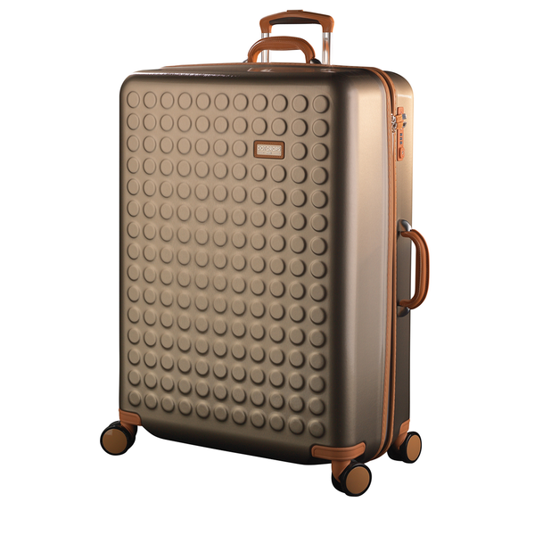 "Hardside 4-wheels suitcase Champagne (28"") 15126PC"