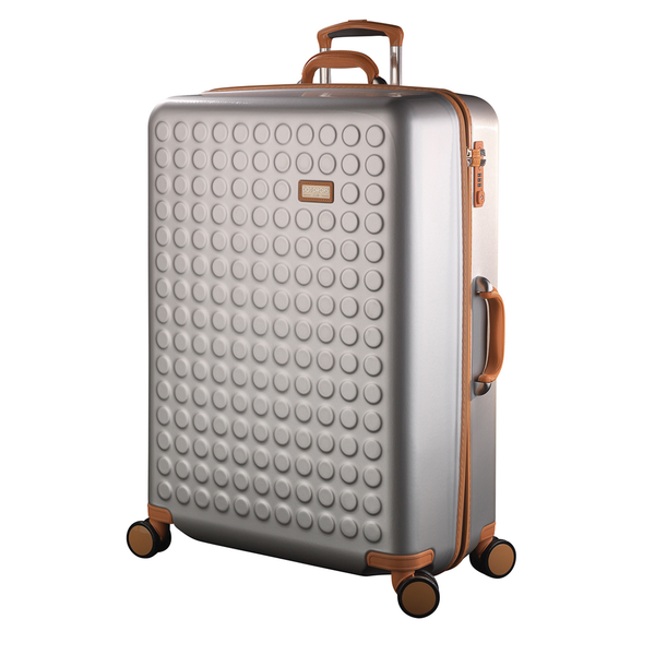 "Hardside 4-wheels suitcase Silver (28"") 15126PC"