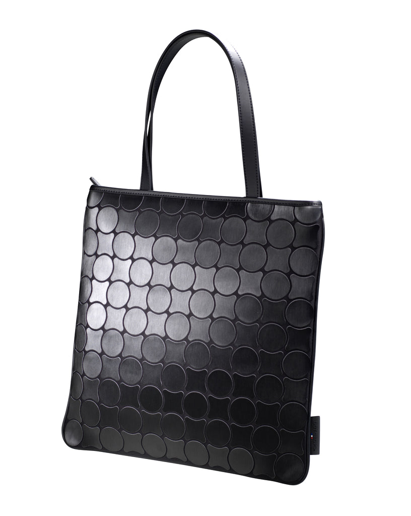 Shopper Bag Black Brushed 16117