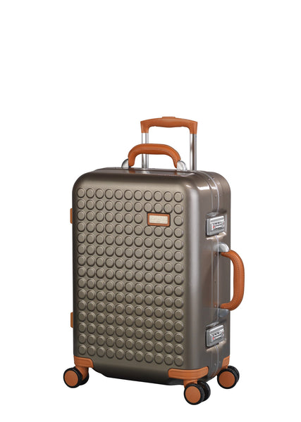 "Hardside 4-wheels suitcase Champaign (22"") 16124PC"