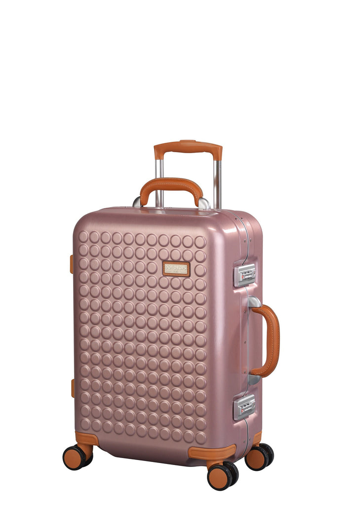 "Hardside 4-wheels suitcase Pink (22"") 16124PC"