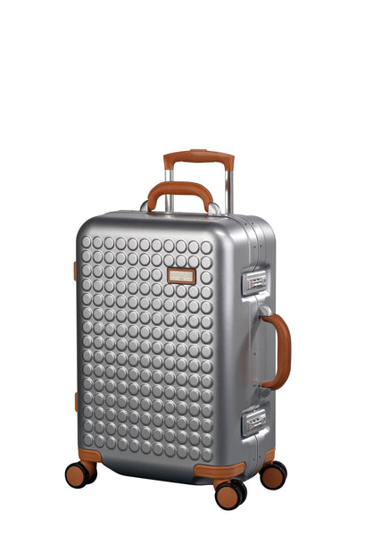 "Hardside 4-wheels suitcase Silver (22"") 16124PC"