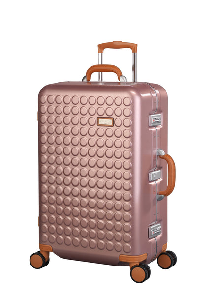 "Hardside 4-wheels suitcase Pink (27"") 16125PC"