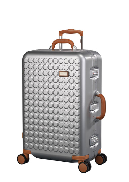 "Hardside 4-wheels suitcase Silver (27"") 16125PC"