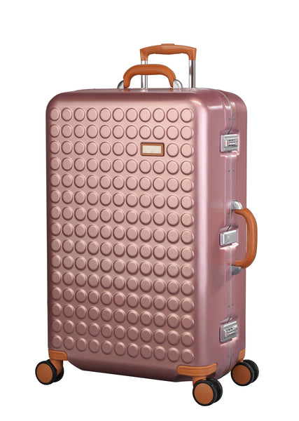 "Hardside 4-wheels suitcase Pink (30"") 16126PC"