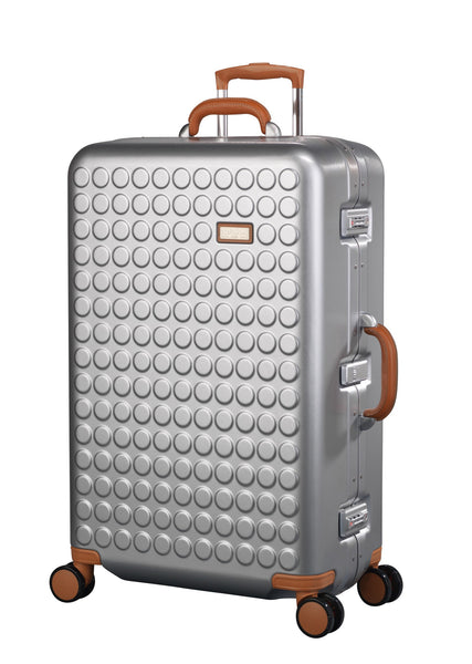 "Hardside 4-wheels suitcase Silver (30"") 16126PC"