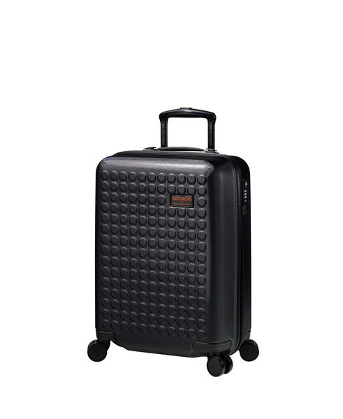 "Hardside 4-wheels suitcase Black (22"") 22144PC"