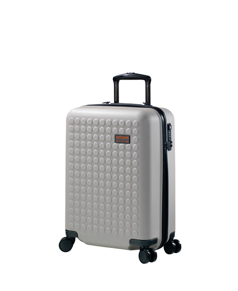"Hardside 4-wheels suitcase Taupe (22"") 22144PC"