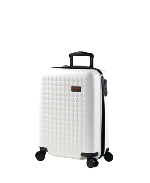 "Hardside 4-wheels suitcase White (22"") 22144PC"