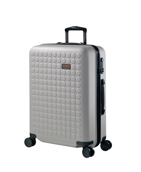 "Hardside 4-wheels suitcase Taupe (24"") 22145PC"