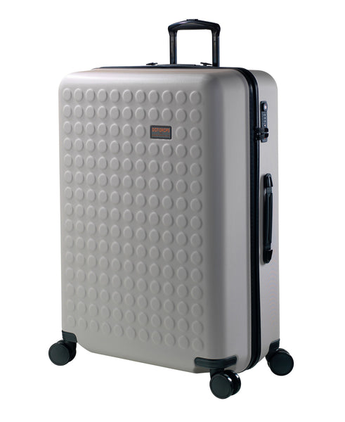 "Hardside 4-wheels suitcase Taupe (28"") 22146PC"