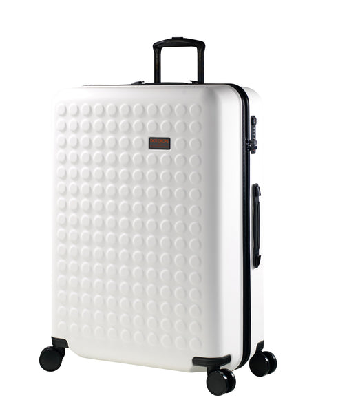 "Hardside 4-wheels suitcase White (28"") 22146PC"