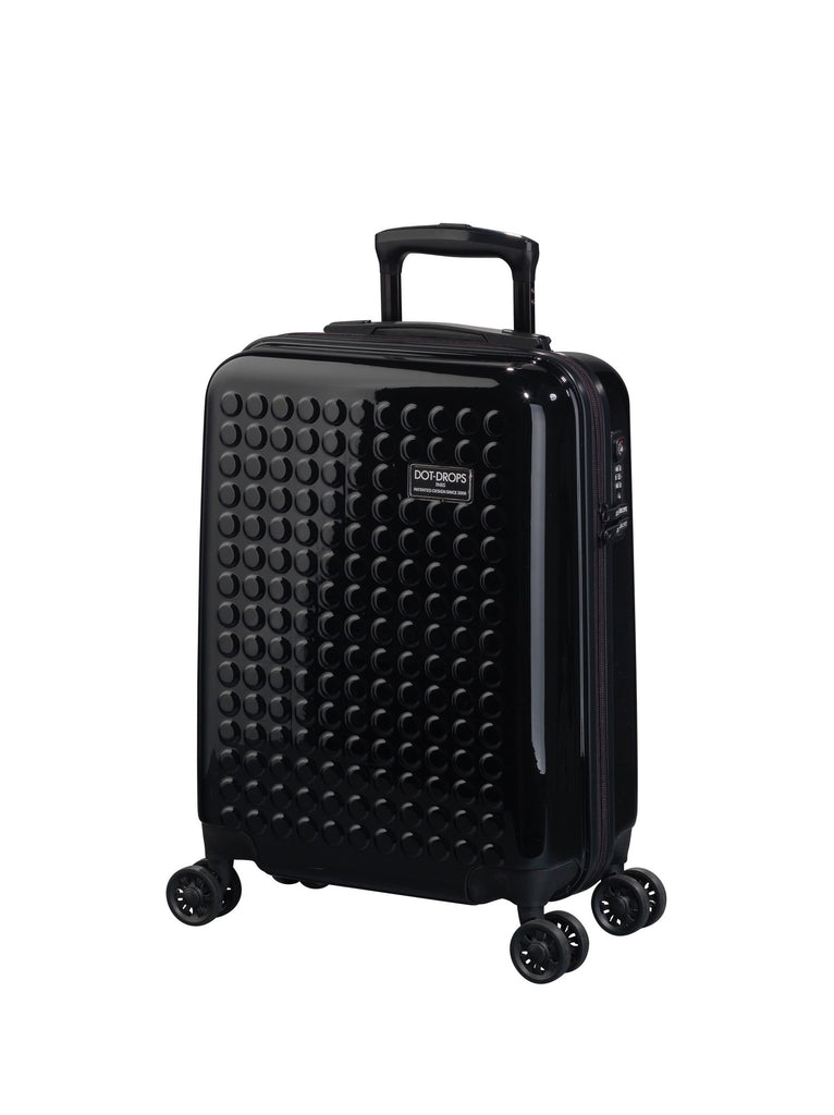 "Hardside 4-wheels suitcase Black (22"" Upright) 22324PC"