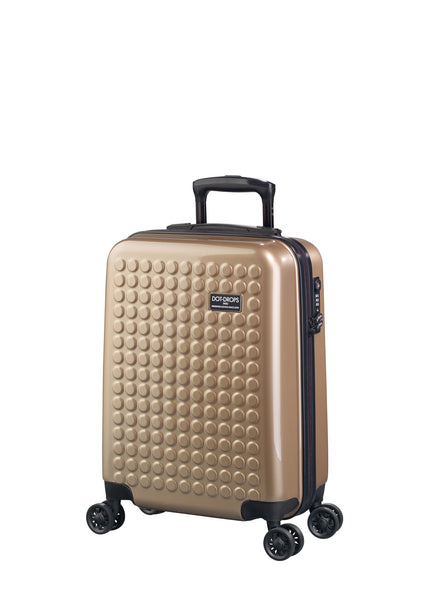 "HARDSIDE 4-WHEELS SUITCASE CHAMPAIGN (22"" UPRIGHT) 22324PC"