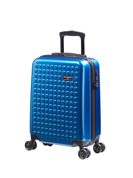 "HARDSIDE 4-WHEELS SUITCASE NEW BLUE (22"" UPRIGHT) 22324PC"