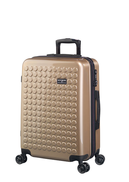 "HARDSIDE 4-WHEELS SUITCASE CHAMPAIGN (25"" UPRIGHT) 22325PC"