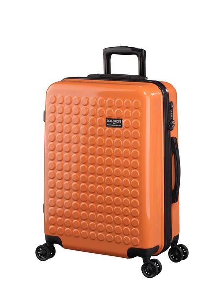 "HARDSIDE 4-WHEELS SUITCASE ORANGE (25"" UPRIGHT) 22325PC"