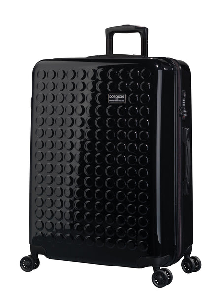 "HARDSIDE 4-WHEELS SUITCASE BLACK (29"" UPRIGHT) 22326PC"