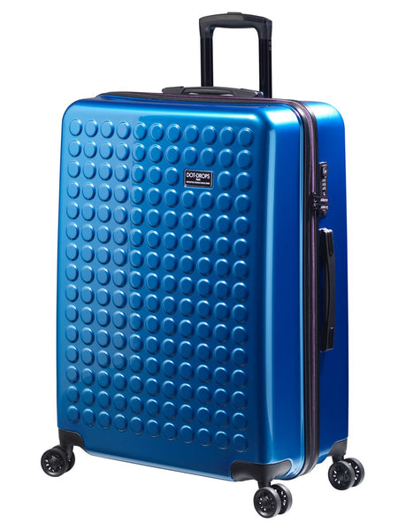 "HARDSIDE 4-WHEELS SUITCASE NEW BLUE (29"" UPRIGHT) 22326PC"