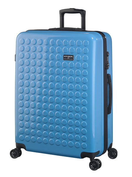 "HARDSIDE 4-WHEELS SUITCASE BLUE (29"" UPRIGHT) 22326PC"