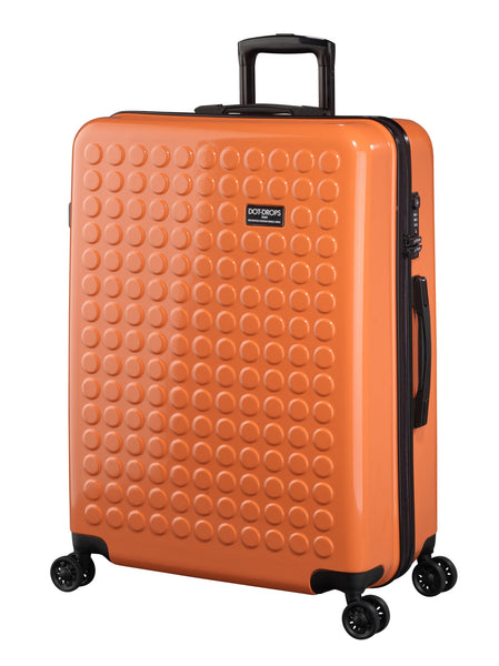 "HARDSIDE 4-WHEELS SUITCASE ORANGE (29"" UPRIGHT) 22326PC"