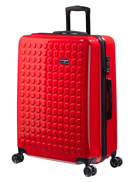 "HARDSIDE 4-WHEELS SUITCASE RED (29"" UPRIGHT) 22326PC"