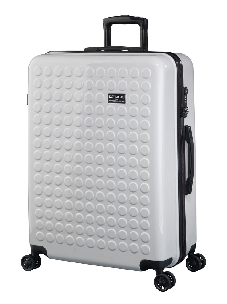 "HARDSIDE 4-WHEELS SUITCASE WHITE (29"" UPRIGHT) 22326PC"