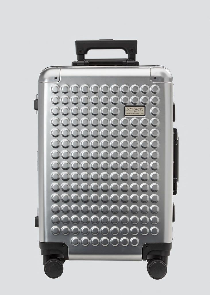 The Carry-On Aluminum Obsidian Grey