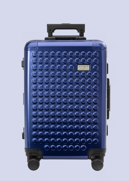 The Carry-On Aluminum Sapphire Blue