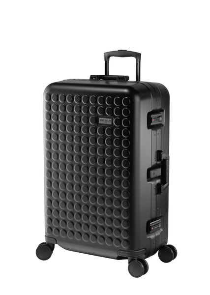 "Hardside 4-wheels suitcase Black Matt (27"") 16125PC"