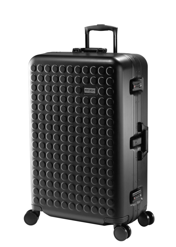 "Hardside 4-wheels suitcase Black Matt (30"") 16126PC"