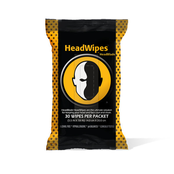 HeadWipes - 30 pack