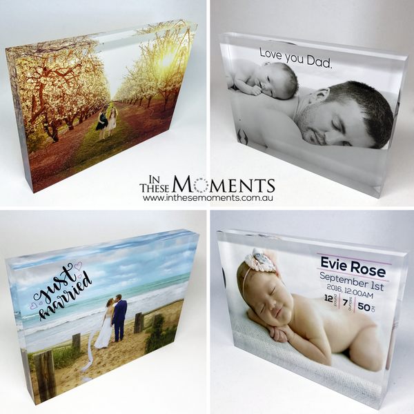 Special Moment Acrylic Photo Blocks