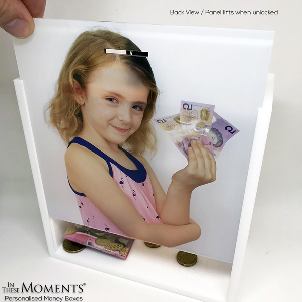 Personalised Photo Money Box / Change Box