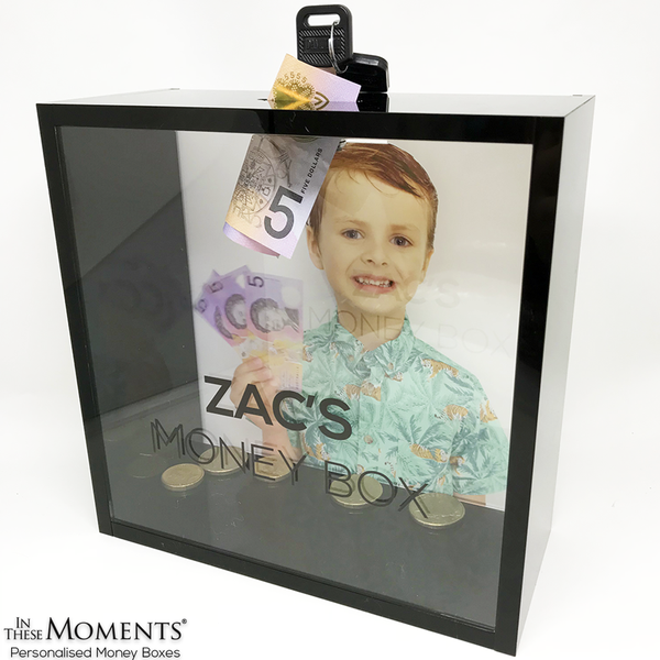 Personalised Boys Money Box