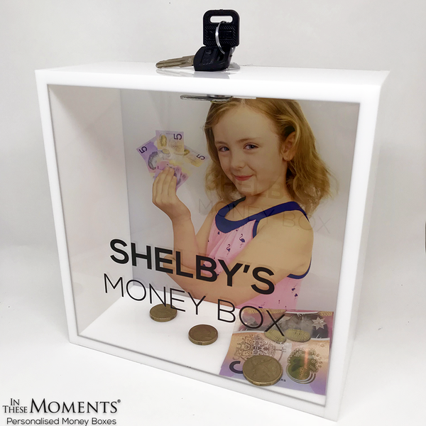 Personalised Girls Money Box
