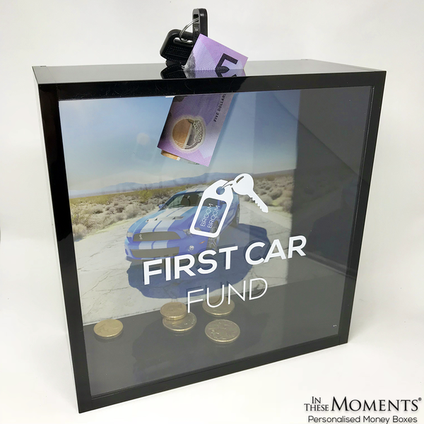 First Car Fund Money Box