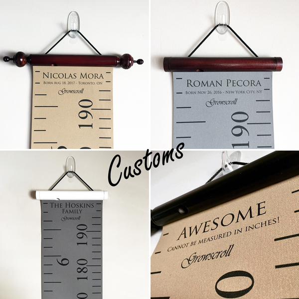 Growscroll ® Growth Chart - Classic