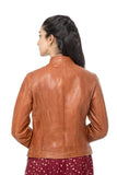 Tan jacket for women