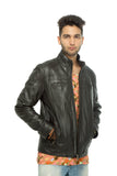 Travel leather jacket