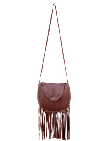 leather bag fringe