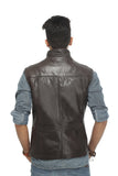 Leather-Sleeveless-Vest