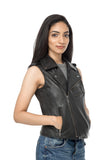 Black Biker jacket women