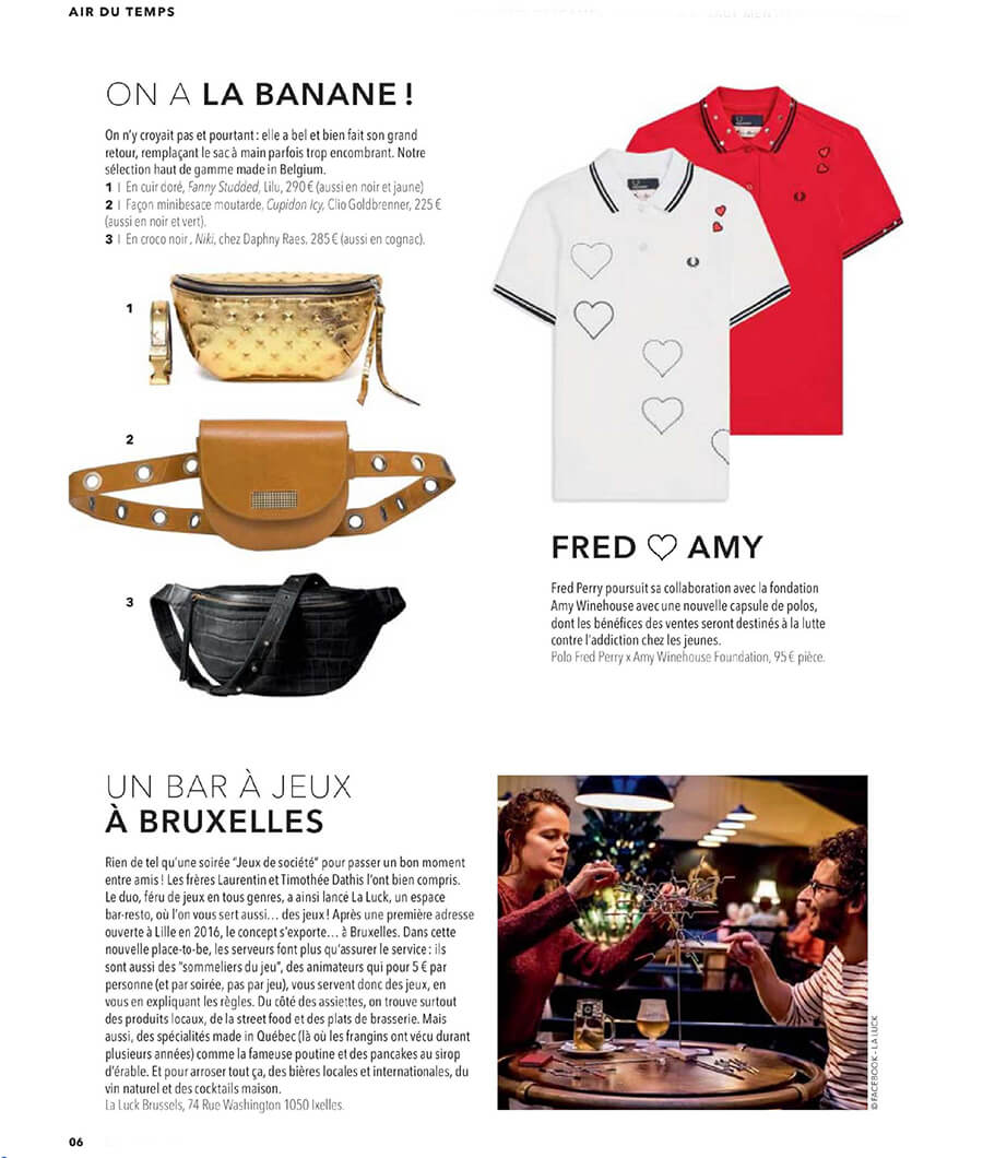 Press feature so soir september 2019