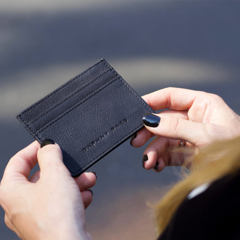 Card holder 'Han' black