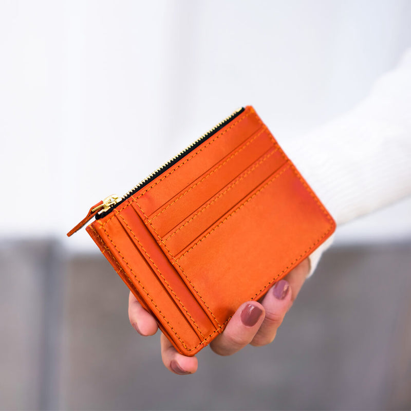 Wallet 'Jack' orange | gold