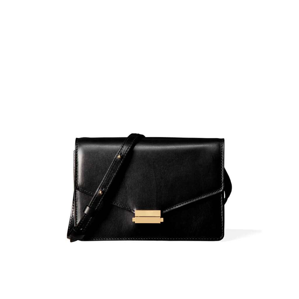 4-in-1 Mini bag 'Amy' smooth black