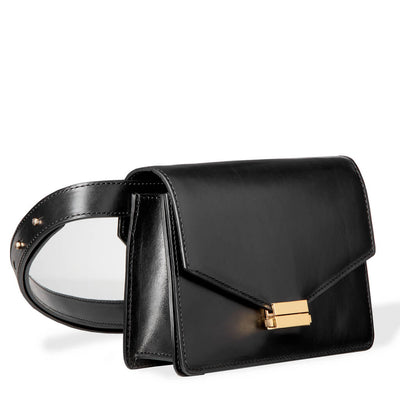 4-in-1 Fanny pack 'Amy' smooth black